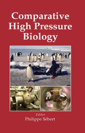 Comparative High Pressure Biology: 1st Edition (Hardback) book cover