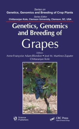 Genetics, Genomics, and Breeding of Grapes (Hardback) book cover