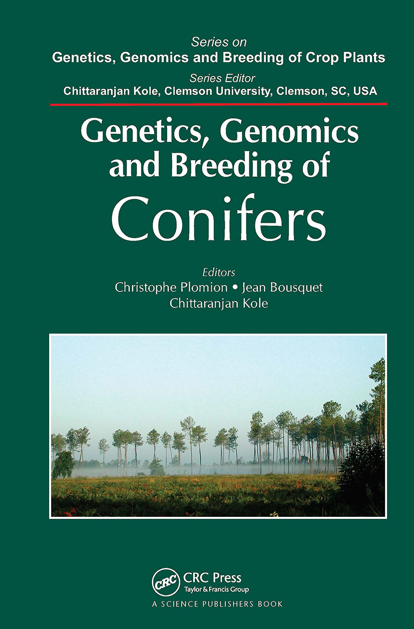 Genetics, Genomics and Breeding of Conifers book cover