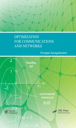 Optimization for Communications and Networks: 1st Edition (Hardback) book cover