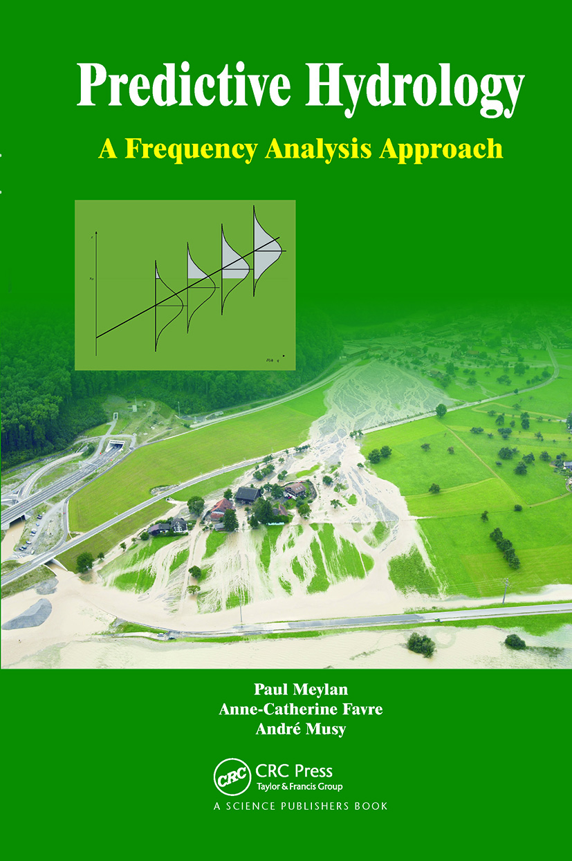 Predictive Hydrology: A Frequency Analysis Approach, 1st Edition (Hardback) book cover