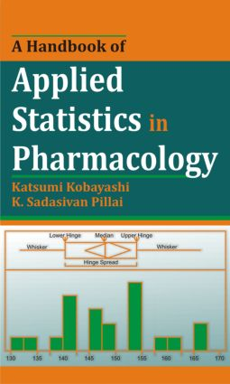 A Handbook of Applied Statistics in Pharmacology (Hardback) book cover