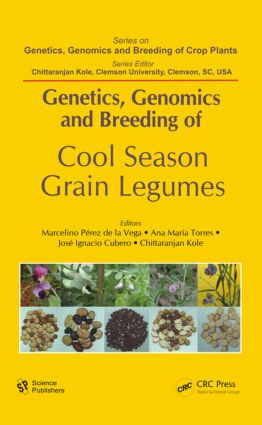 Genetics, Genomics and Breeding of Cool Season Grain Legumes (Hardback) book cover