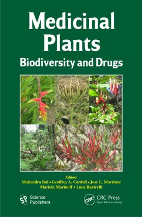Medicinal Plants: Biodiversity and Drugs, 1st Edition (Hardback) book cover