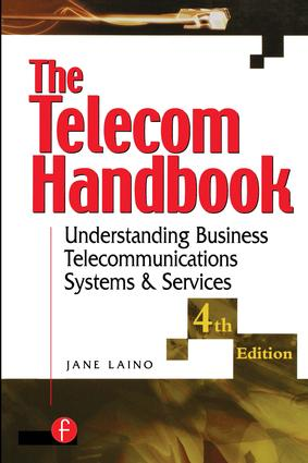 The Telecom Handbook: Understanding Telephone Systems and Services, 4th Edition (Paperback) book cover