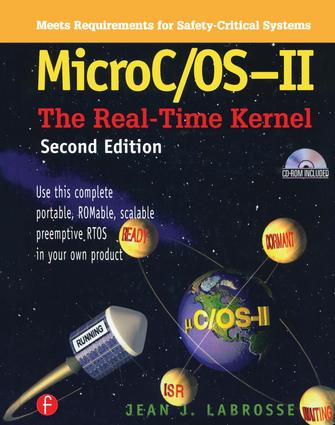 MicroC/OS-II: The Real Time Kernel, 2nd Edition (Hardback) book cover