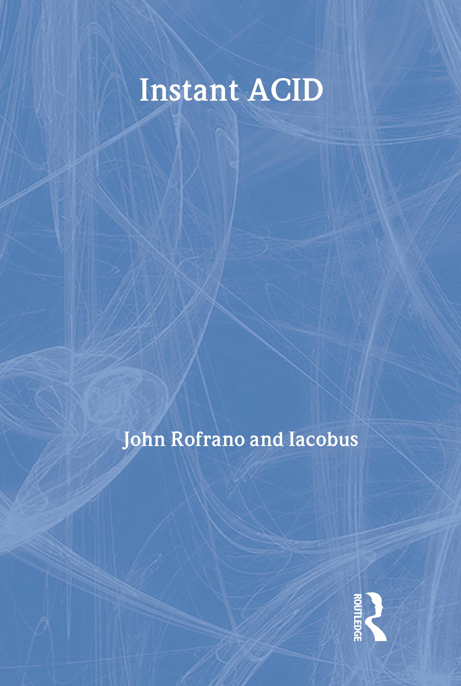 Instant ACID: VASST Instant Series, 1st Edition (Paperback) book cover