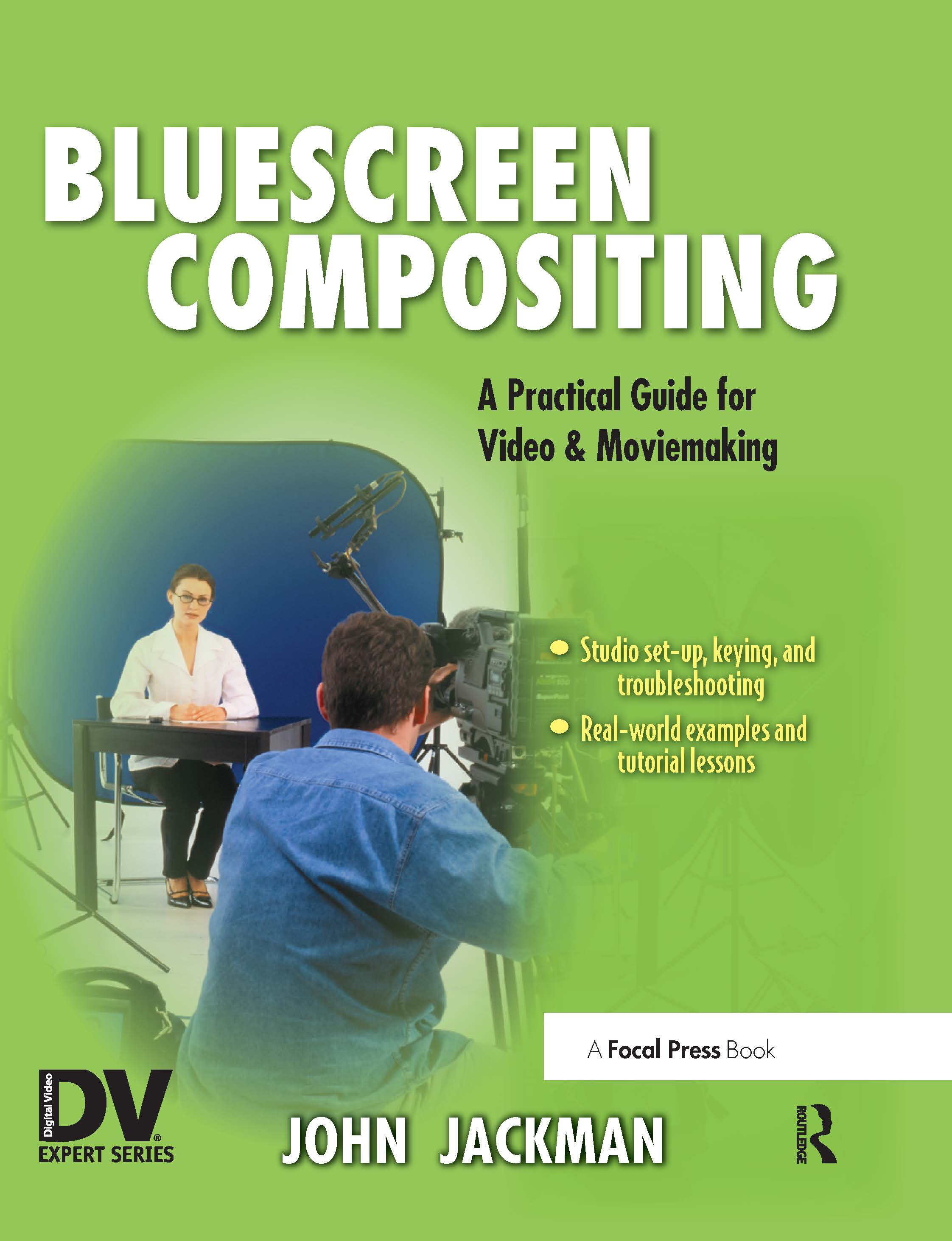 Bluescreen Compositing: A Practical Guide for Video & Moviemaking, 1st Edition (Paperback) book cover