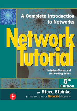 Network Tutorial: A Complete Introduction to Networks Includes Glossary of Networking Terms, 5th Edition (Paperback) book cover