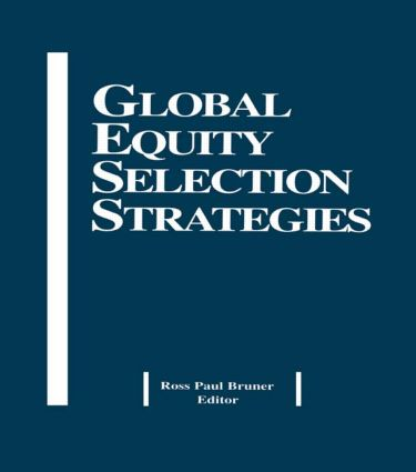 Global Equity Selection Strategies: 1st Edition (Hardback) book cover