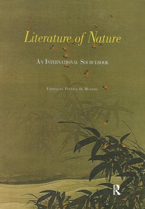 Literature of Nature: An International Sourcebook (Hardback) book cover