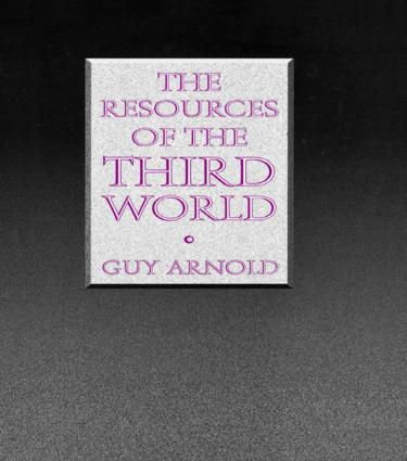 The Resources of the Third World: 1st Edition (Hardback) book cover