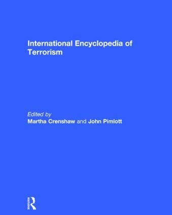 International Encyclopedia of Terrorism (Hardback) book cover