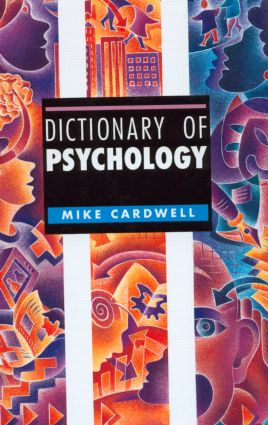 Dictionary of Psychology book cover
