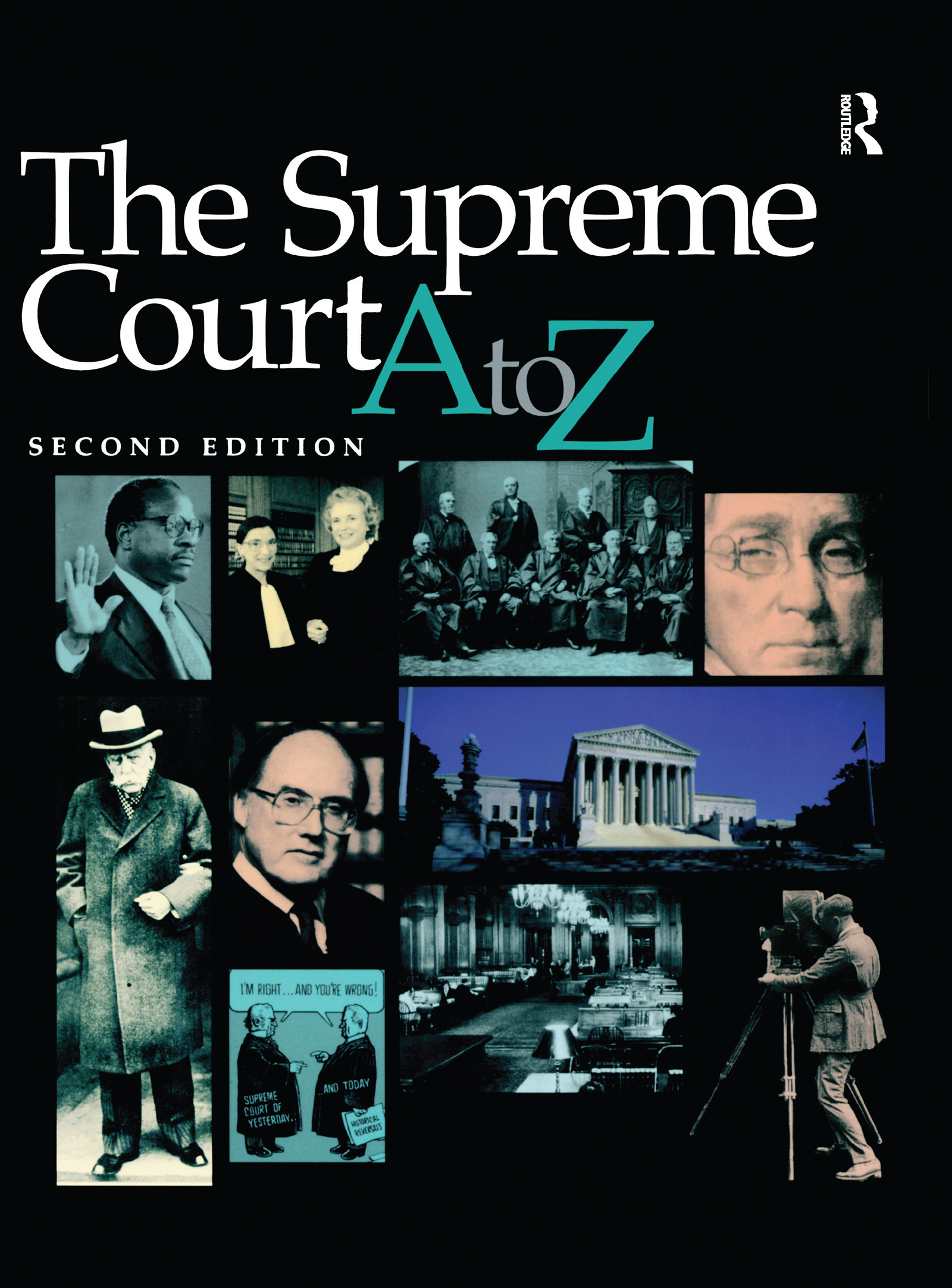 The Supreme Court A-Z (Hardback) book cover