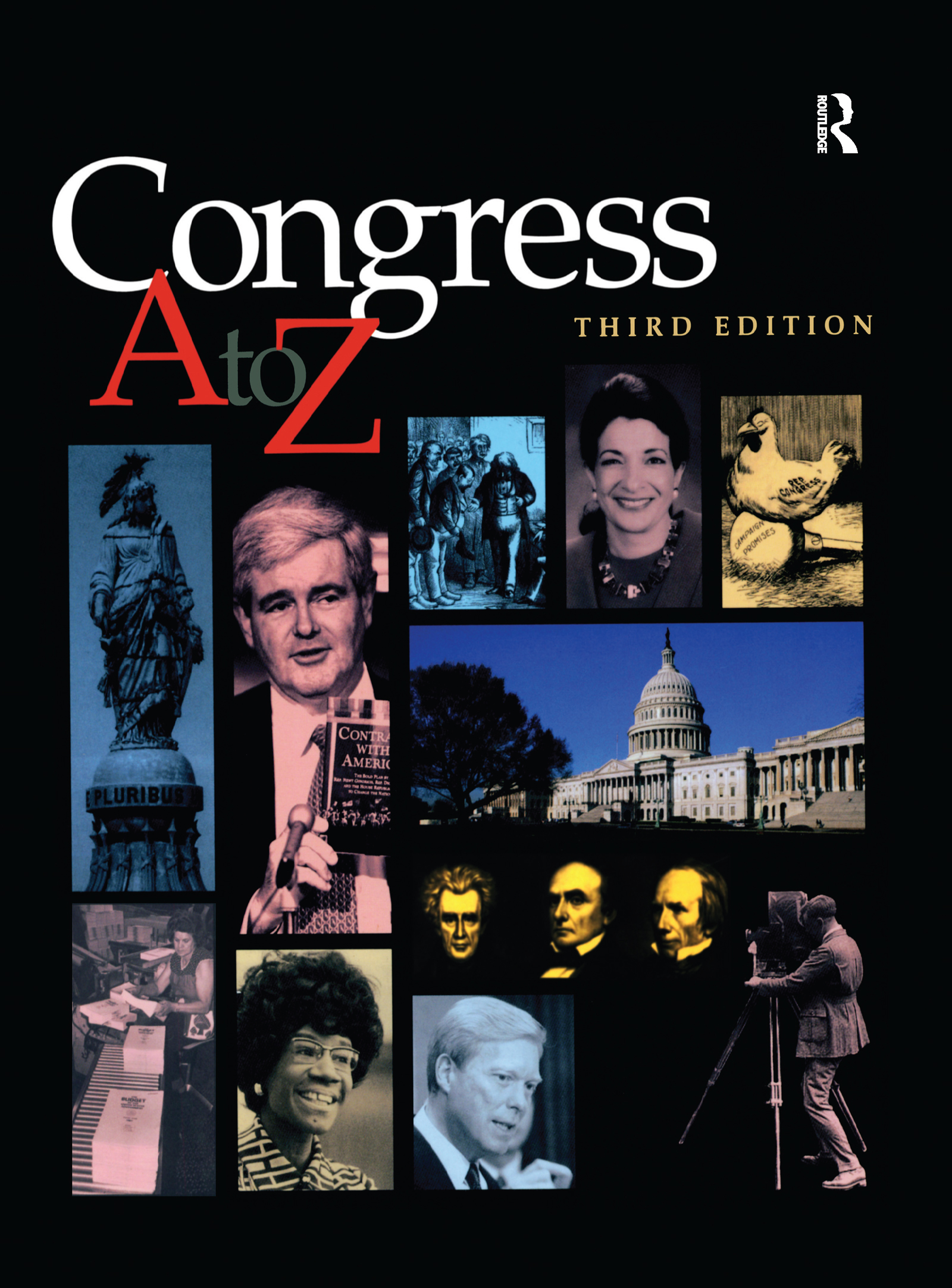 Congress A-Z: 1st Edition (Hardback) book cover