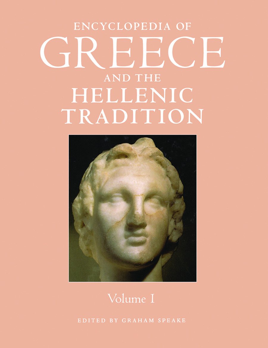 Encyclopedia of Greece and the Hellenic Tradition: 1st Edition (Hardback) book cover