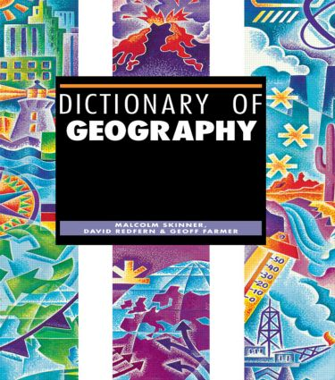 Dictionary of Geography (Hardback) book cover