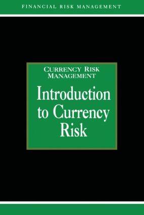 Introduction to Currency Risk book cover
