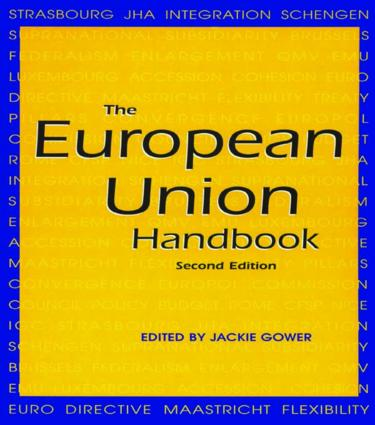 The European Union Handbook: 2nd Edition (Hardback) book cover