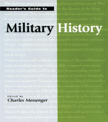 Reader's Guide to Military History: 1st Edition (Hardback) book cover