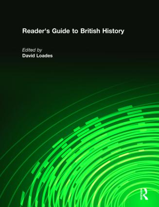 Reader's Guide to British History: 1st Edition (Hardback) book cover
