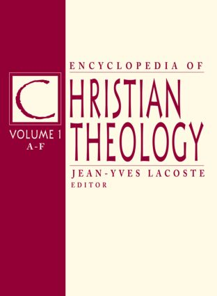 Encyclopedia of Christian Theology: 3-volume set (e-Book) book cover
