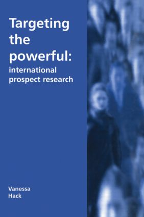 Targeting the Powerful: International Prospect Research, 1st Edition (Hardback) book cover