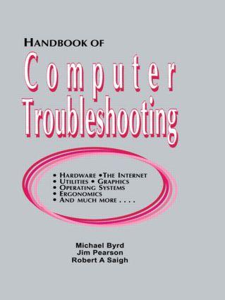 Handbook of Computer Troubleshooting: 1st Edition (Hardback) book cover