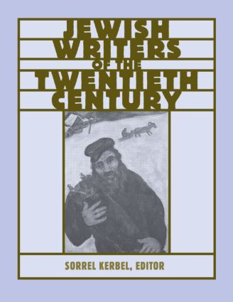 The Routledge Encyclopedia of Jewish Writers of the Twentieth Century book cover