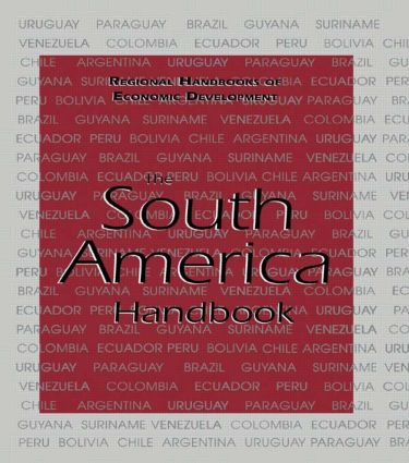 The South America Handbook: 1st Edition (Hardback) book cover