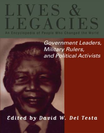 Government Leaders, Military Rulers and Political Activists: 1st Edition (e-Book) book cover