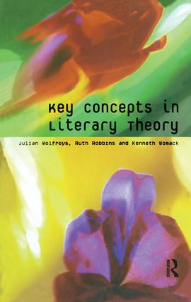 Key Concepts in Literary Theory: 1st Edition (Hardback) book cover