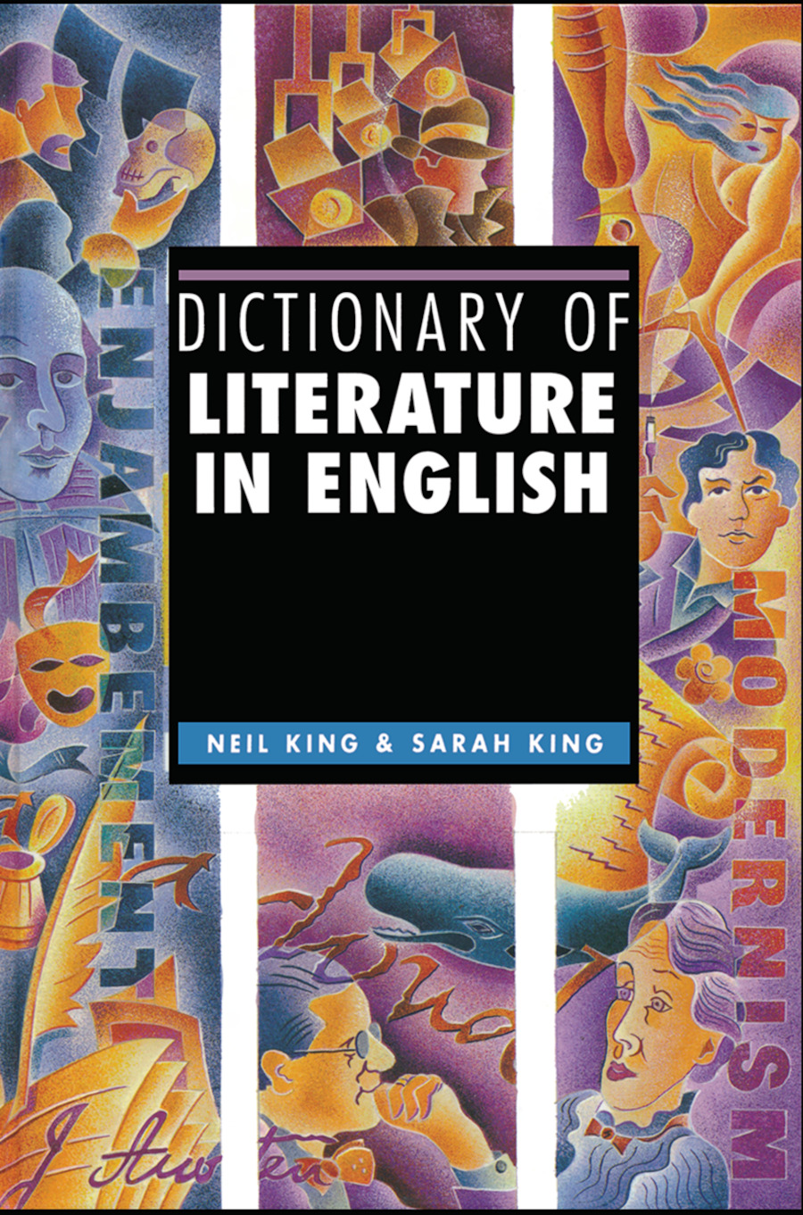 Dictionary of Literature in English: 1st Edition (Hardback) book cover