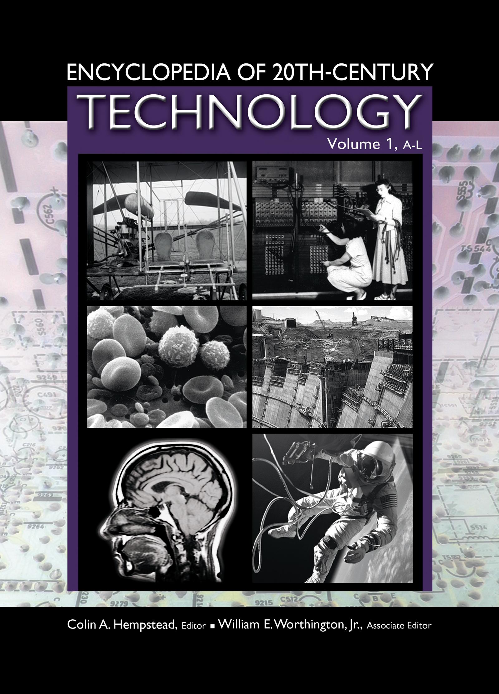 Encyclopedia of 20th-Century Technology (Hardback) book cover