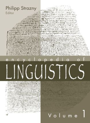 Encyclopedia of Linguistics: 1st Edition (Hardback) book cover