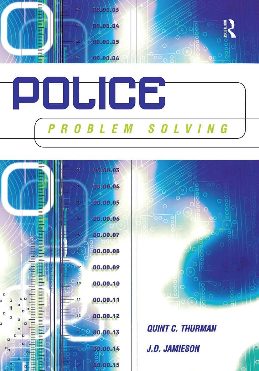 Police Problem Solving: 1st Edition (Paperback) book cover
