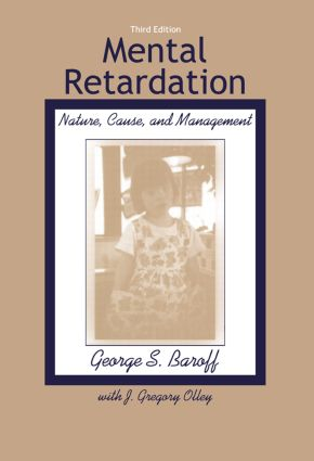 Mental Retardation: Nature, Cause, and Management, 3rd Edition (Paperback) book cover