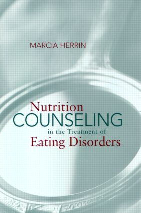 Nutrition Counseling in the Treatment of Eating Disorders (e-Book) book cover