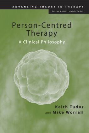 Person-Centred Therapy: A Clinical Philosophy (Paperback) book cover