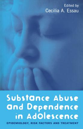 Substance Abuse and Dependence in Adolescence: Epidemiology, Risk Factors and Treatment (Paperback) book cover