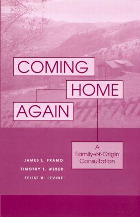 Coming Home Again: A Family-Of-Origin Consultation (Hardback) book cover