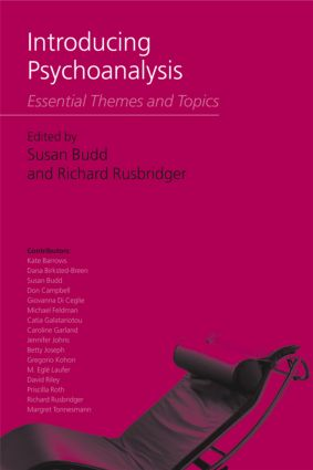 Introducing Psychoanalysis: Essential Themes and Topics, 1st Edition (Paperback) book cover