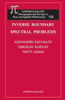 Inverse Boundary Spectral Problems book cover