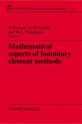 Mathematical Aspects of Boundary Element Methods: 1st Edition (Paperback) book cover