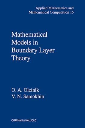 Mathematical Models in Boundary Layer Theory book cover