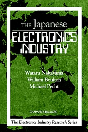 The Japanese Electronics Industry: 1st Edition (Paperback) book cover