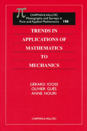 Trends in Applications of Mathematics to Mechanics: 1st Edition (Hardback) book cover