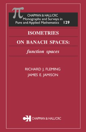 Isometries on Banach Spaces: function spaces book cover
