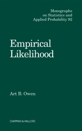 Empirical Likelihood: 1st Edition (Hardback) book cover